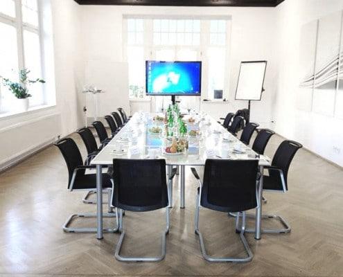 Moderne Meetingräume in Leipzig